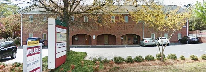 Chiropractic Greensboro NC Office Building